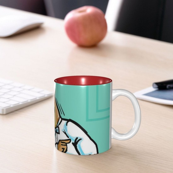 Office Bears ceramics Coffee Mug for Tea,Funny Coffee Mug, Microwave Safe, Won't Fade Away, Great Gift Cup Idea for Any Occasion Mother's Day 11OZ