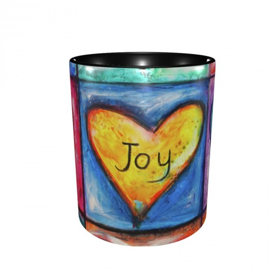 The Fruit Of The Spirit ceramics Coffee Mug for Tea,Funny Coffee Mug, Microwave Safe, Won't Fade Away, Great Gift Cup Idea for Any Occasion Valentine's Day 11OZ