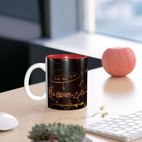 Jack Scully L'Étrange Noël De Monsieur Jack ceramics Coffee Mug for Coffee,Funny Coffee Mug, Microwave Safe, Won't Fade Away, Great Gift Cup Idea for Any Occasion Mother's Day 11OZ