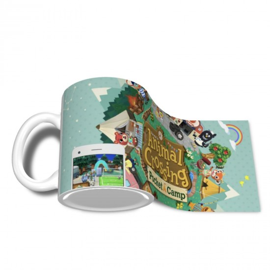 Pocket Camp ceramics Coffee Mug for Coffee,Funny Coffee Mug, Microwave Safe, Won't Fade Away, Great Gift Cup Idea for Any Occasion Christmas 11OZ