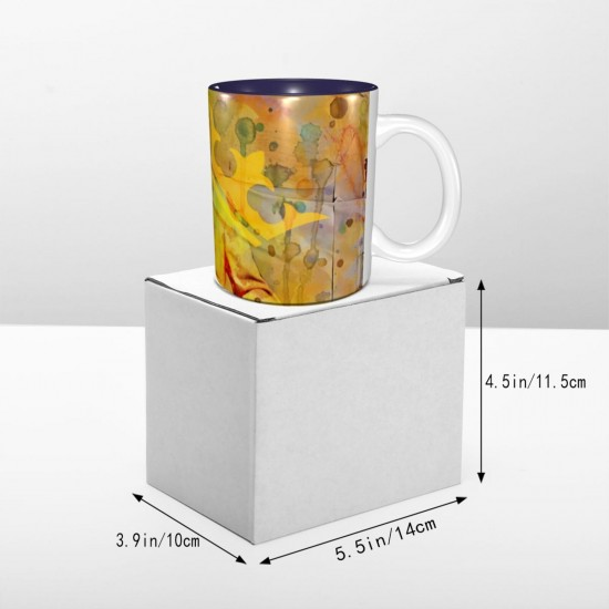 Aloha Elvis ceramics Coffee Mug for Coffee,Funny Coffee Mug, Microwave Safe, Won't Fade Away, Great Gift Cup Idea for Any Occasion Father's Day 11OZ