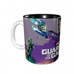 Drax The Destroyer Gamora Gardiens De La Galaxie Groot Rocket Raccoon Star Lord ceramics Coffee Mug for Cocoa,Funny Coffee Mug, Microwave Safe, Won't Fade Away, Great Gift Cup Idea for Any Occasion Father's Day 11OZ